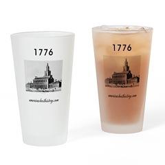 ABH Timeline 1776 Drinking Glass