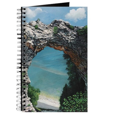 Arch Rock Mackinac Island Custom Journal