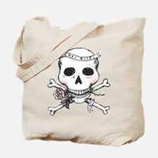 Skull - Love Bites Tote Bag