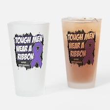 Hodgkin's Lymphoma Tough Men Drinking Glass