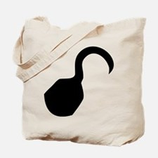 Pirate hook Tote Bag