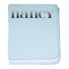 Nancy Carved Metal baby blanket