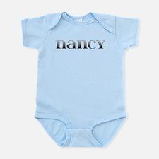 Nancy Carved Metal Infant Bodysuit