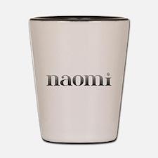 Naomi Carved Metal Shot Glass