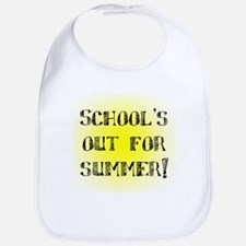 School's Out for Summer Bib