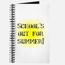 School's Out for Summer Journal