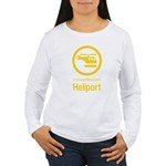 Heliport - Thai Sign Women's Long Sleeve T-Shirt