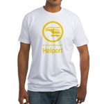 Heliport - Thai Sign Fitted T-Shirt
