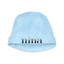 Nina Carved Metal baby hat