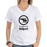 Heliport - Thai Sign Women's V-Neck T-Shirt