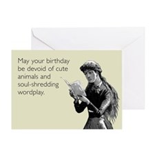 Birthday Wordplay Greeting Card