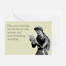 Birthday Wordplay Greeting Card