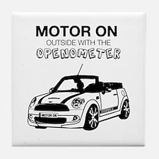 R52 Mini Convertible Outside Tile Coaster