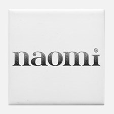 Naomi Carved Metal Tile Coaster
