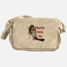Well Behaved Woman 1 Messenger Bag