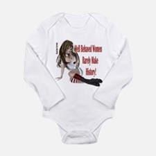 Well Behaved Woman 1 Long Sleeve Infant Bodysuit