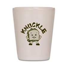 How Bout A Knuckle Sandwich? Shot Glass