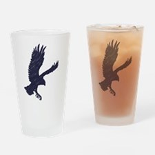 Fly Like An Eagle Drinking Glass