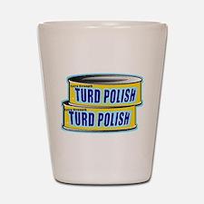 Turd Polish Shot Glass
