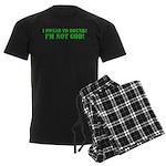 I'm NOT God! Men's Dark Pajamas