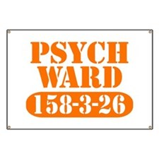 Psych Ward - Orange Banner