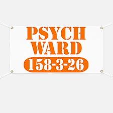Psych Ward - Orange Banner