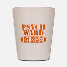 Psych Ward - Orange Shot Glass