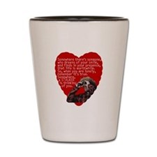 Stalker Anti-Valentine Shot Glass