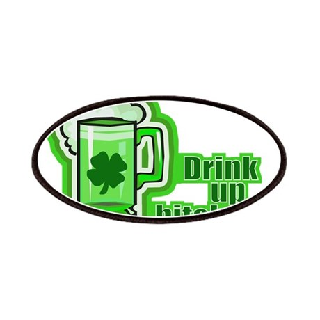 Drink Up The Green Beer Patches