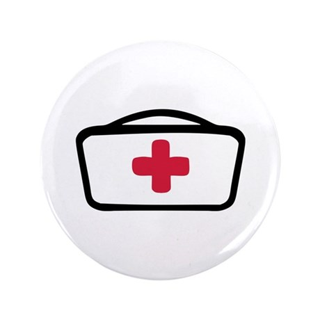 "Nurse 3.5"" Button (100 pack)"