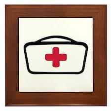 Nurse Framed Tile