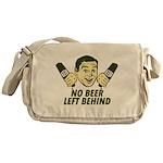 No Beer Left Behind Messenger Bag