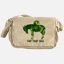Cute Funny st patricks day Messenger Bag