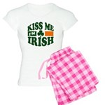 Kiss Me I'm Irish Women's Light Pajamas