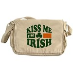 Kiss Me I'm Irish Messenger Bag