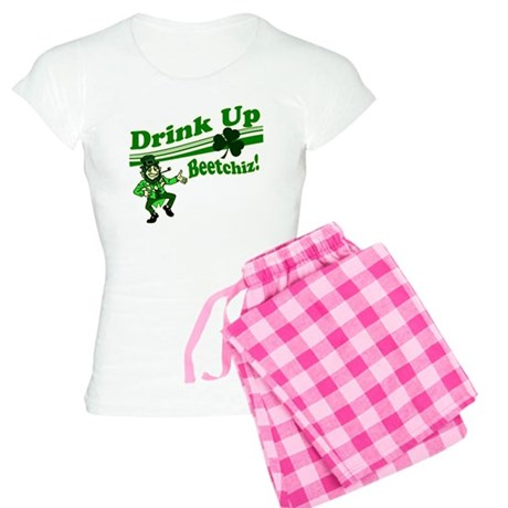 Drink Up Bitches Women's Light Pajamas