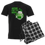 Here For The Beer! Men's Dark Pajamas
