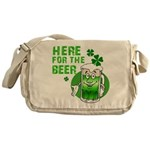 Here For The Beer! Messenger Bag