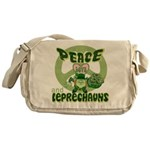 Peace Love And Leprechauns Messenger Bag