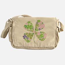 Cute Irish girl Messenger Bag