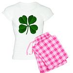 Lucky Four Leaf Clover Women's Light Pajamas