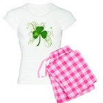 St Paddys Day Fancy Shamroc Women's Light Pajamas
