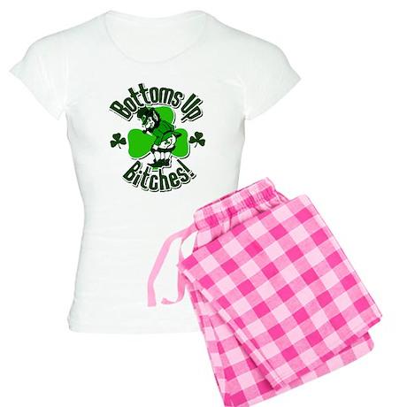 Bottoms Up Bitches! Women's Light Pajamas