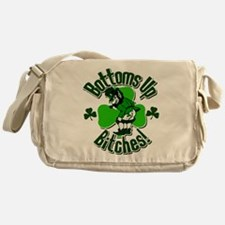 Bottoms Up Bitches! Messenger Bag