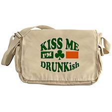 Kiss Me I'm Drunkish Messenger Bag
