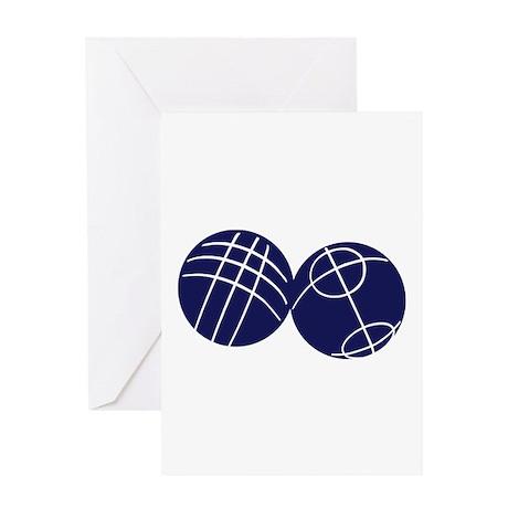 Boule petanque Greeting Card