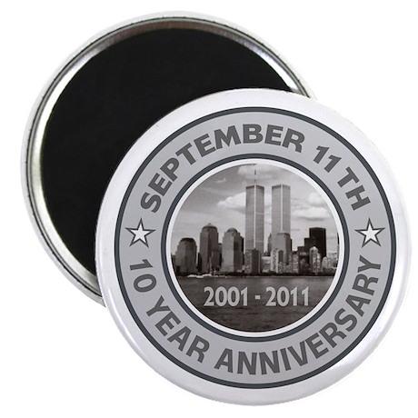 """September 11 Anniversary 2.25"""" Magnet (10 pack)"""