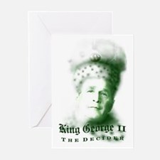 King George Greeting Cards (Pk of 10)