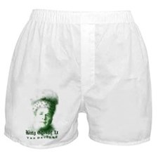 King George II The Decider Boxer Shorts