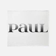 Paul Carved Metal Throw Blanket